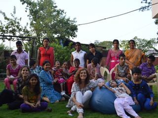 Segunda experiéncia solidaria en Karuna. Jabalpur , India. Año 2015.