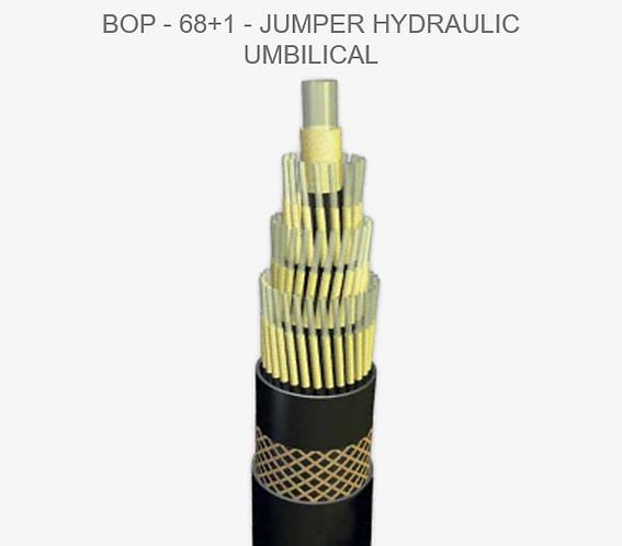 Umbilical Jumper Hydraulic BOP - 68+1