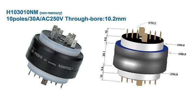 Non-mercury Through Bore 10.2mm Multi Conductor