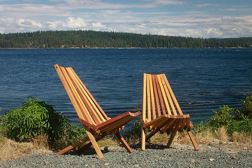 Folding Cedar Deck Chair