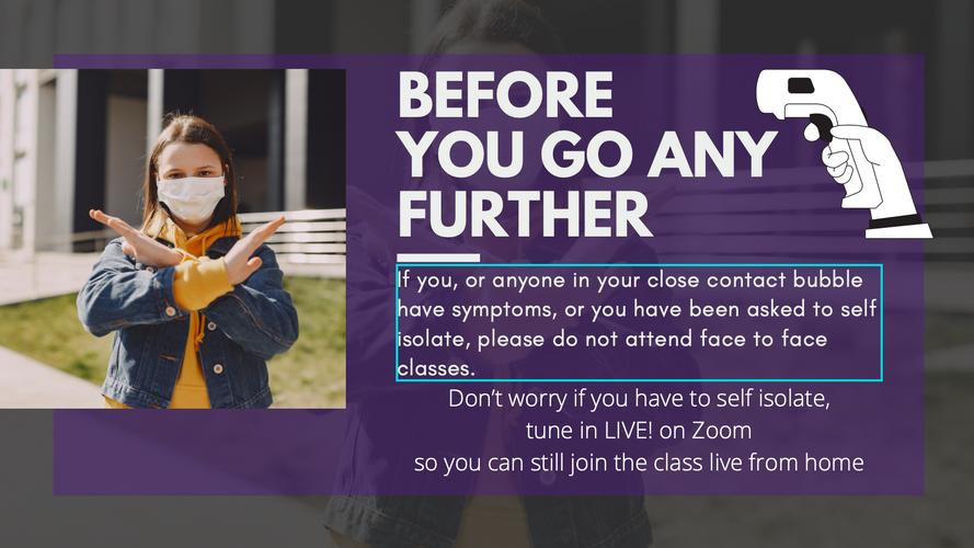 Safe Face 2 Face Classes
