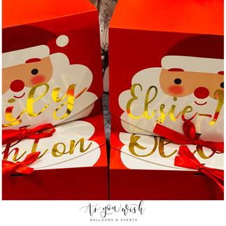 Personalised Santa Boxes