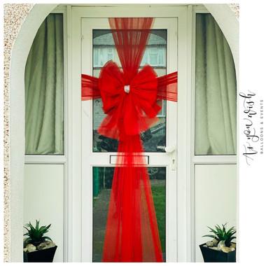 Standard Red Door Bow