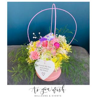 Fresh Flower Hat Box