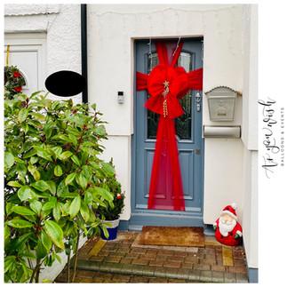 Red Door Bow