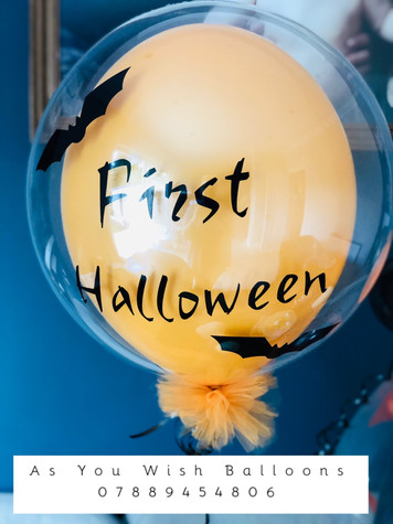 First Halloween Balloon