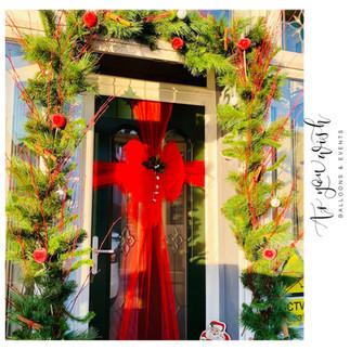 Fresh Pine Door Wreath Custom Made