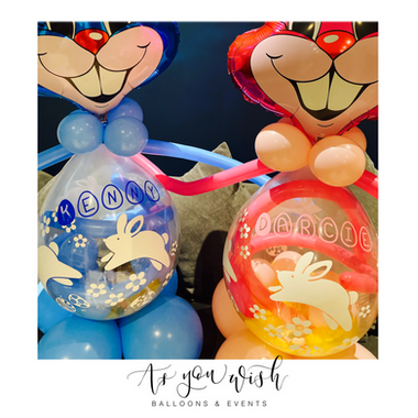 Stuffing Chocolate Balloons