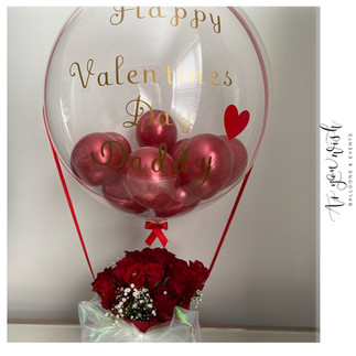 Flower and Balloon Combination
