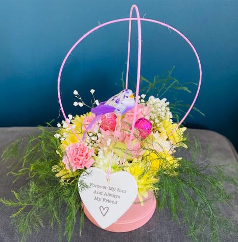 Fresh Flower Hat Boxes