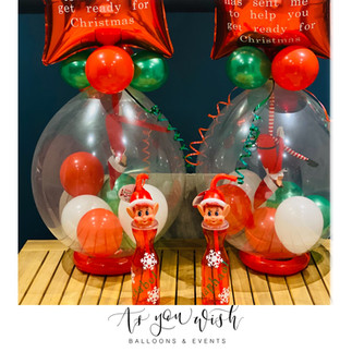 Elf on Shelf Pop me Balloon