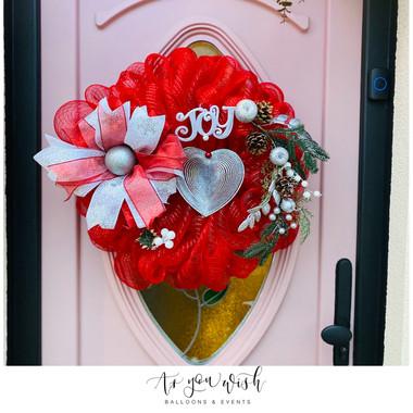 Custom Made Door Wreath