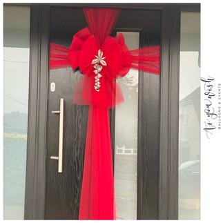 Custom Door Bow
