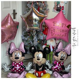 Christmas Day Balloons