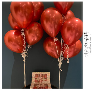 Cupcakes and Balloons