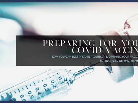 Preparing for Your COVID Vaccine & Supporting Immunity