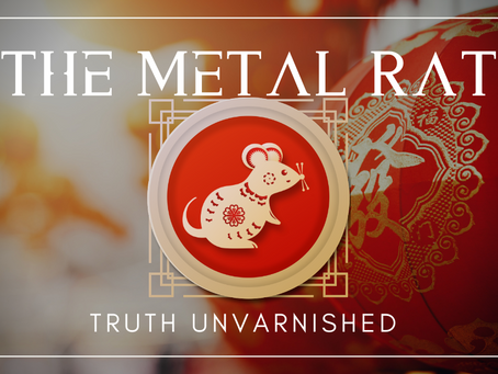 Happy Lunar New Year! Welcoming the Metal Rat.