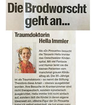 St. Galler Bratwurst Traumdoktorin Hella Immler