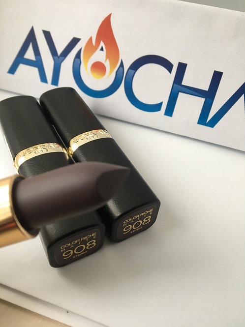 Loreal color riche matte lipstick-storm