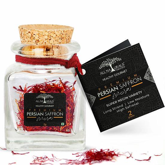Premium Persian Saffron - Super Negin Variety - 2 grams