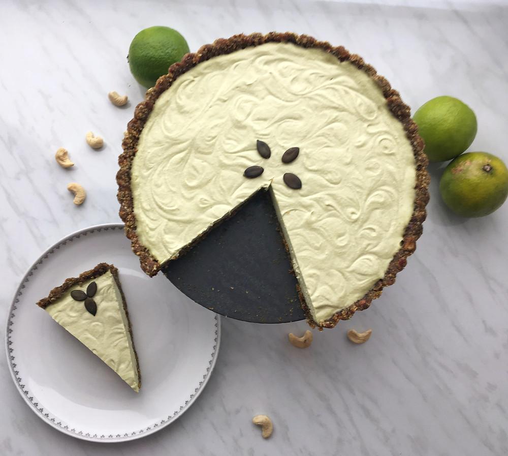 Presna pita avokado in limeta