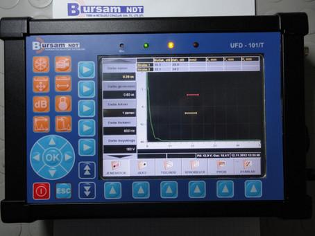 Ultrasonik Hata Dedektörü UFD-101-T