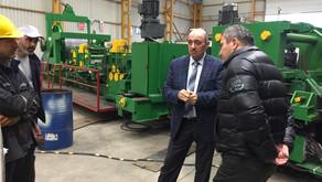 BCS Çelik Boru Fabrikası Ziyareti