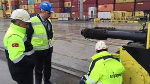 MCS Global Logistics Asyaport Liman Kontrol ziyareti