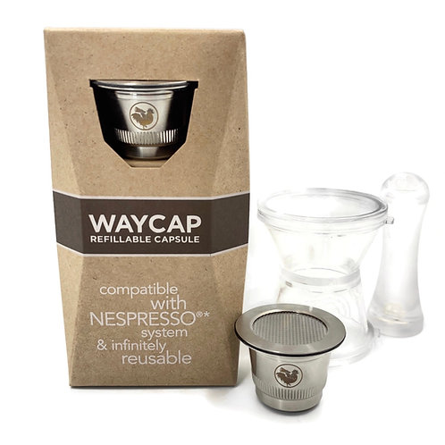 Waycap Refillable Coffee Capsule / Pod (Nespresso)
