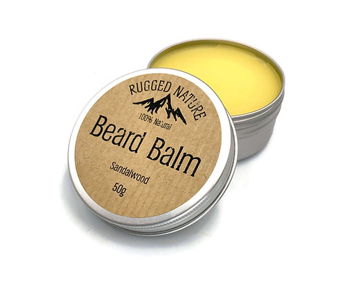 Beard Balm Sandalwood - Rugged Nature