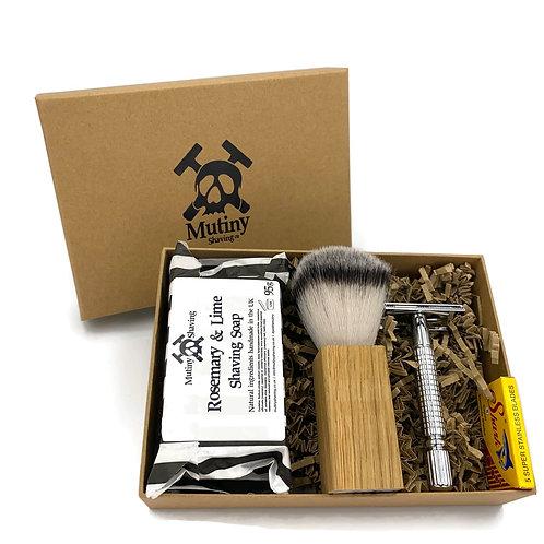 Natural Shaving Box Set - Mutiny Shaving Co.