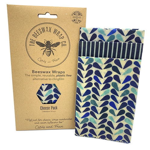 Bees Wax Wraps - Cheese Pack - 3 Wraps