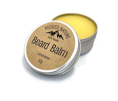 Beard Balm Lemongrass - Rugged Nature