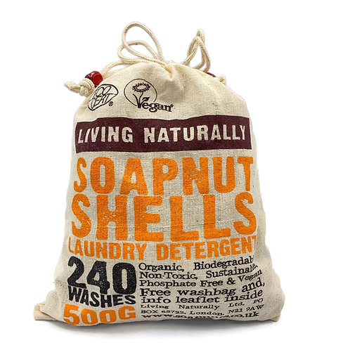 Soap Nuts, Natural Laundry Detergent 500g