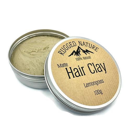 Hair Clay Lemongrass - Rugged Nature