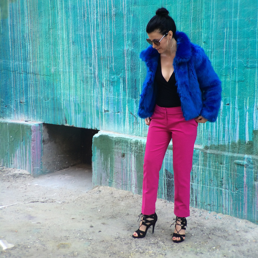 How to Style Bold Pants