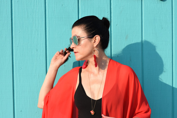 End of Summer Favorites: Bold Colors, Kimono and Fringe