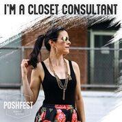 I'm a Poshmark Closet Consultant!