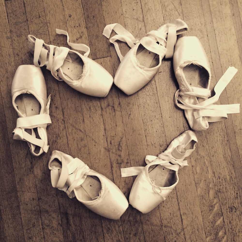 World Ballet Day pointe shoes