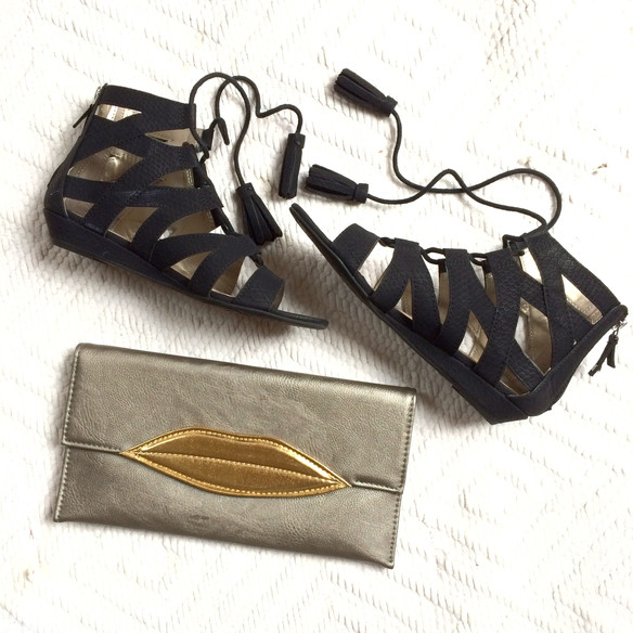 """These Sandals, This Clutch and More Fashion Talk on """"The Because Show"""""""