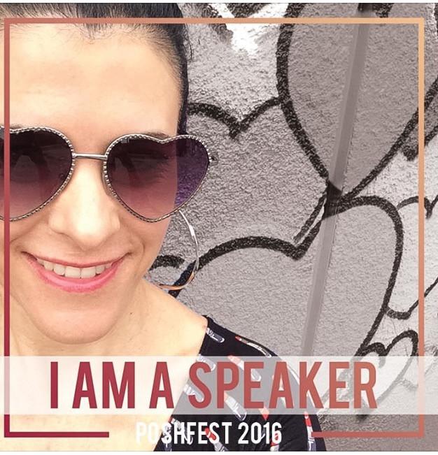 I Am A PoshFest Speaker