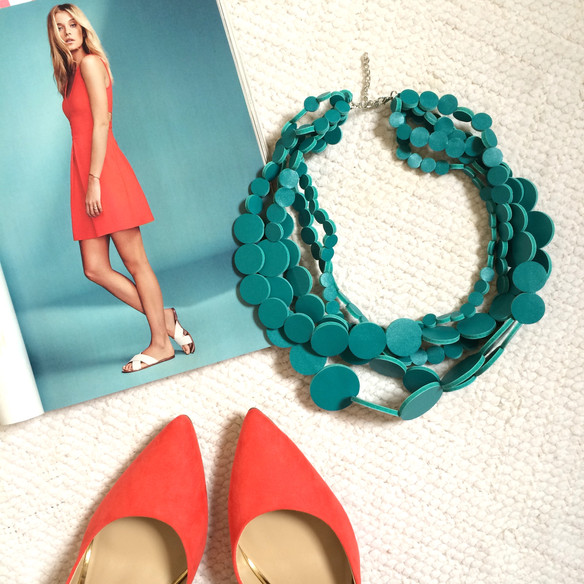 Color Crush: Orange and Turquoise and Coral, Oh My!