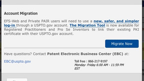Patent filers - The Migration Tool