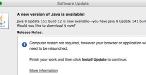 USPTO and Java v8 update 151 build 12