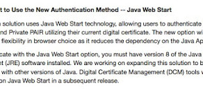 USPTO - The end is coming. How to authenticate without the Java plugin?