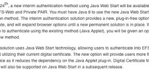 Java Web Start is almost here