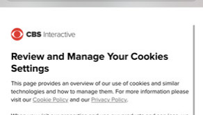 Cookies should not default to on