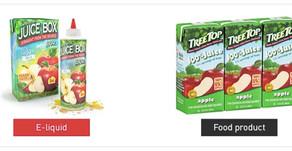 Vape juice has 5 ingredients