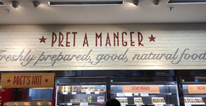 Pret A Manger is everywhere