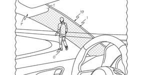 Safer driving by light bending materials